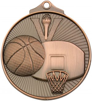 Basketball Medal Bronze