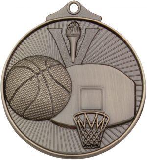 Basketball Medal Silver