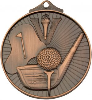 Golf Medal Bronze