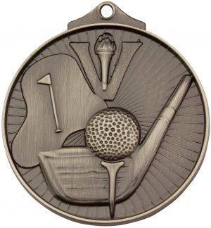 Golf Medal Silver