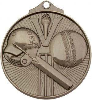 Cricket Medal Silver