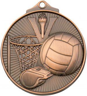 Netball Medal Bronze