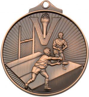 Rugby Medal Bronze