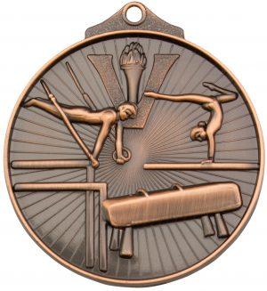 Gymnastics Medal Bronze