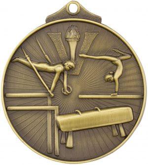 Gymnastics Medal Gold