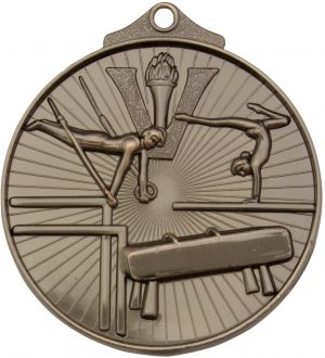 Gymnastics Medal Silver
