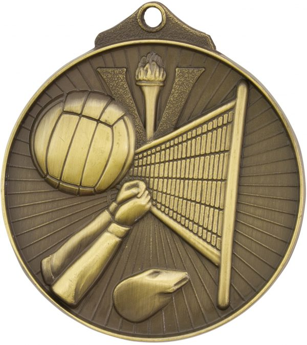 Volleyball Medal Gold