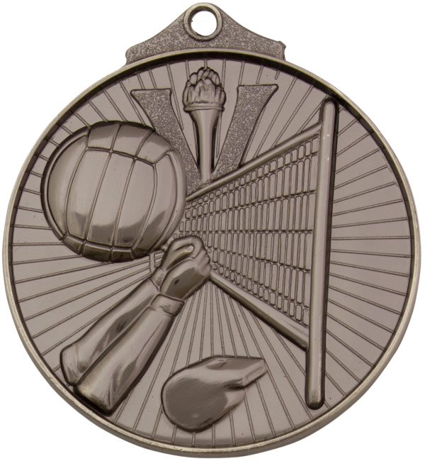 Volleyball Medal Silver
