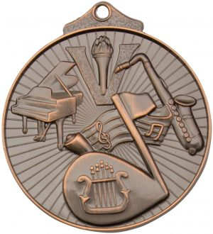 Music Medal Bronze