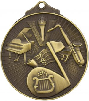 Music Medal Gold