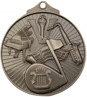 Music Medal Silver