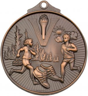 Cross Country Medal Bronze