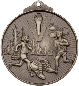 Cross Country Medal Silver