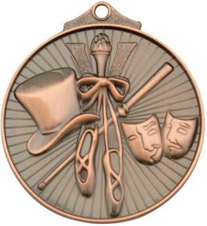 Dance Medal Bronze