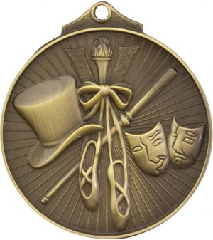 Dance Medal Gold