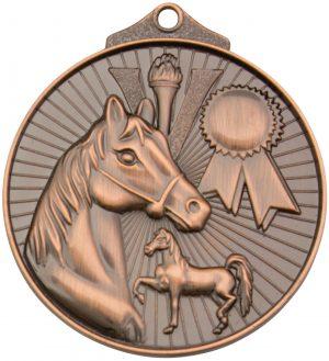 Horse Medal Bronze
