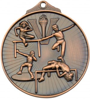 Track and Field Medal Bronze