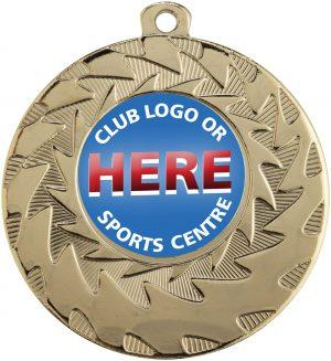 Eco Wave Medal Gold