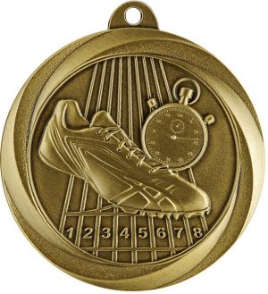 Track Econo Medal Gold