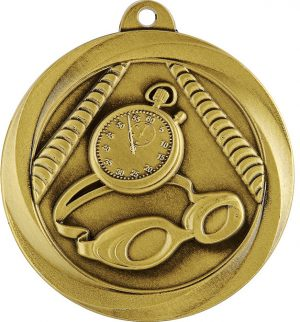 Swim Econo Medal Gold