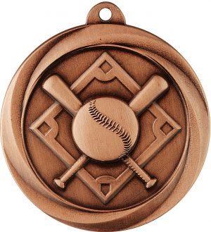 Baseball Econo Medal Bronze