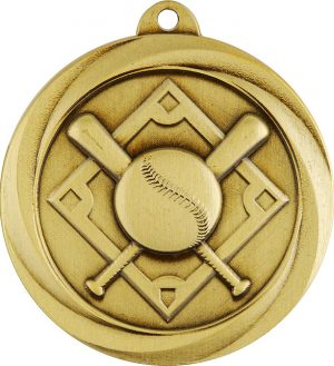 Baseball Econo Medal Gold