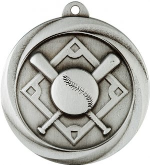 Baseball Econo Medal Silver