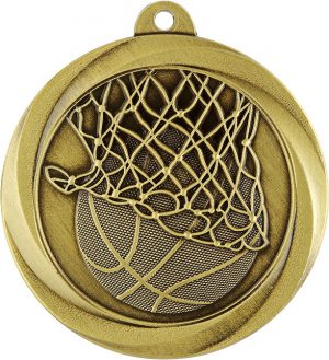 Basketball Econo Medal Gold