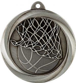 Basketball Econo Medal Silver