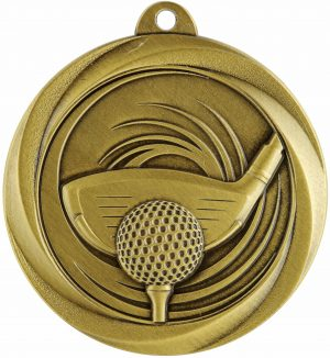 Golf Econo Medal Gold