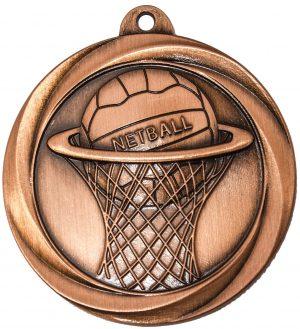 Netball Econo Medal Bronze