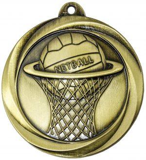 Netball Econo Medal Gold