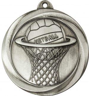 Netball Econo Medal Silver