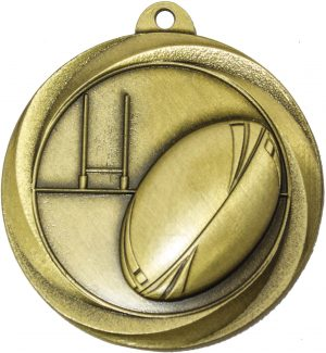 Rugby Econo Medal Gold