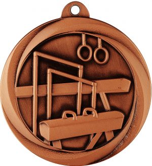 Gymnastics Econo Medal Bronze