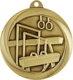 Gymnastics Econo Medal Gold