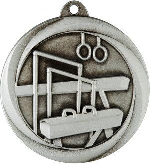 Gymnastics Econo Medal Silver