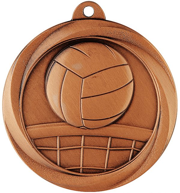 Volleyball Econo Medal Bronze
