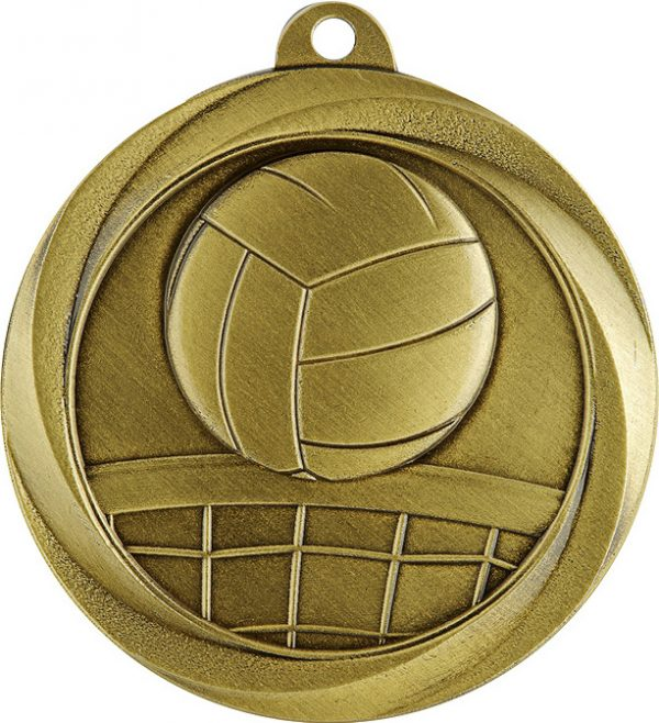 Volleyball Econo Medal Gold