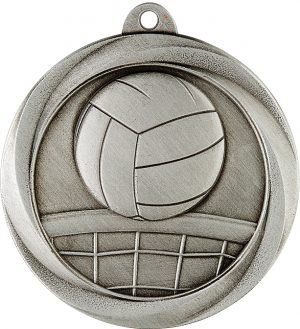 Volleyball Econo Medal Silver