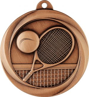 Tennis Econo Medal Bronze