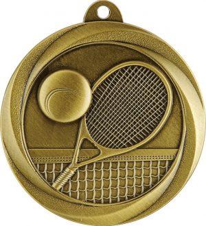 Tennis Econo Medal Gold