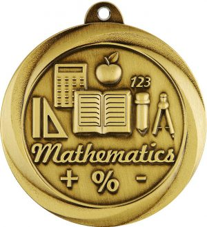 Maths Econo Medal Gold