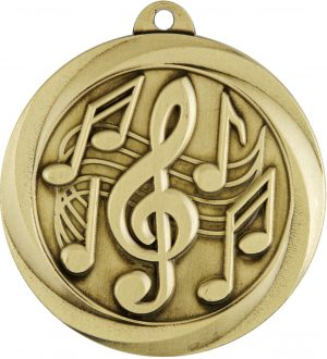 Music Econo Medal Gold