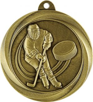 Ice Hockey Econo Medal Gold