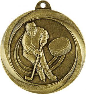 Ice Hockey Econo Medal Gold