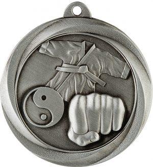 Martial Arts Econo Medal Silver