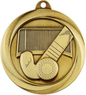 Hockey Econo Medal Gold