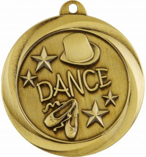 Dance Econo Medal Gold