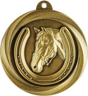 Horse Econo Medal Gold